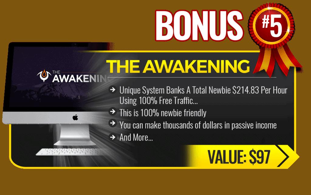 the awakening bonus for Orange Builder Review